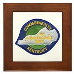 Kentucky Corrections Framed Tile