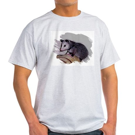 Baby Possum Ash Grey T-Shirt
