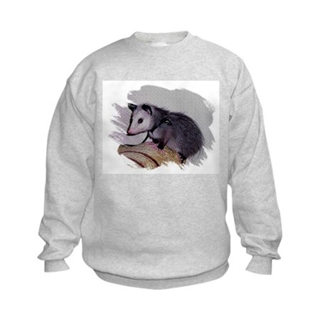 Baby Possum Kids Sweatshirt