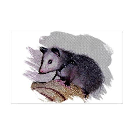 Baby Possum Mini Poster Print