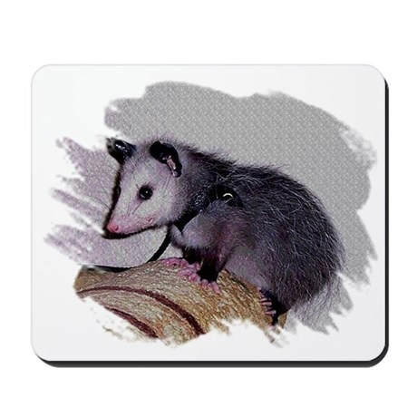 Baby Possum Mousepad
