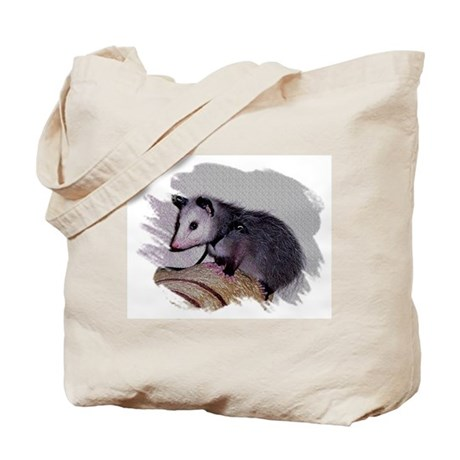 Baby Possum Tote Bag