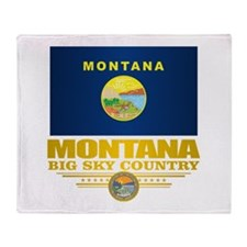 Montana Pride Throw Blanket