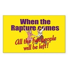 When the Rapture Comes Decal