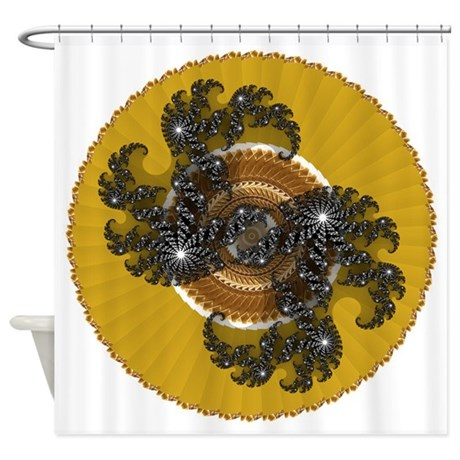 004b.png Shower Curtain
