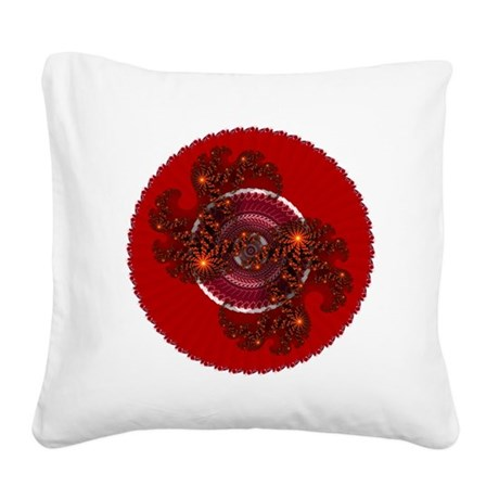 004.png Square Canvas Pillow