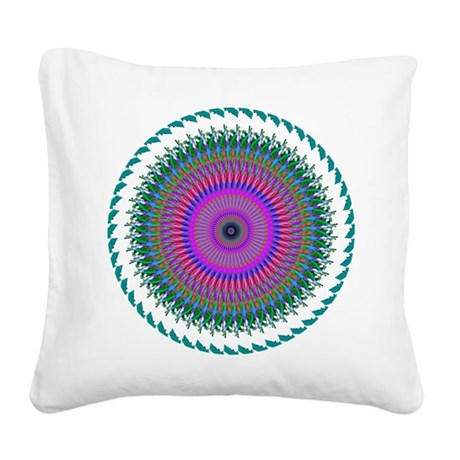 006.png Square Canvas Pillow