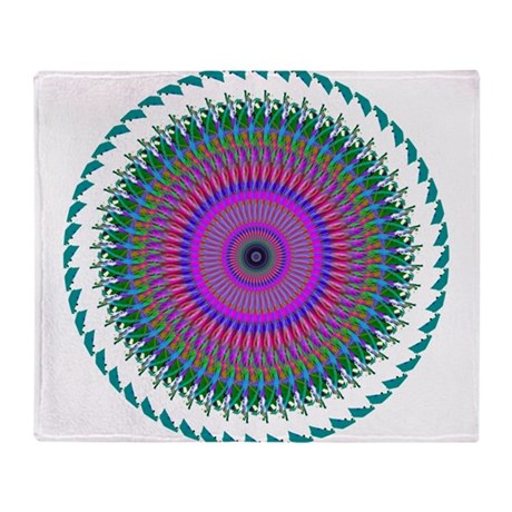 006.png Throw Blanket