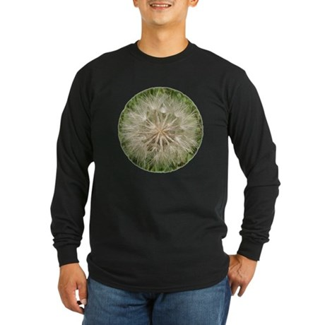 Milkweed Seeds Long Sleeve Dark T-Shirt