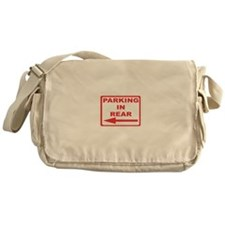 Rear parking Messenger Bag