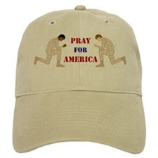 Pray For America Baseball Cap