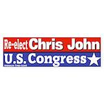 Chris John for Congress Bumper Sticker