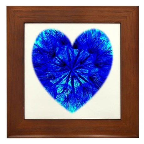 Heart of Seeds Framed Tile