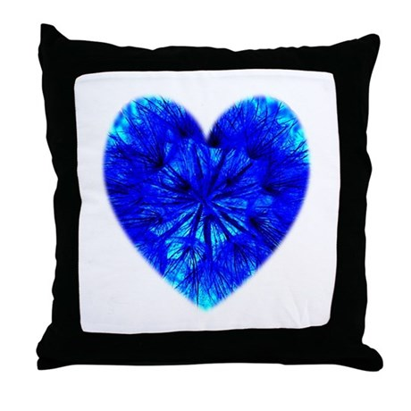 Heart of Seeds Throw Pillow