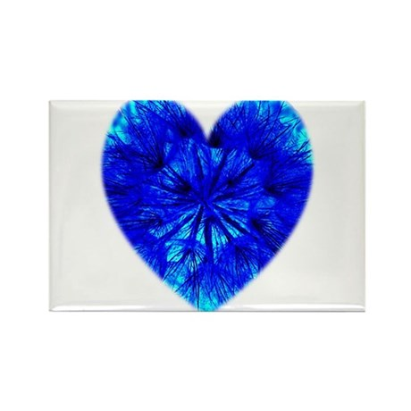 Heart of Seeds Rectangle Magnet