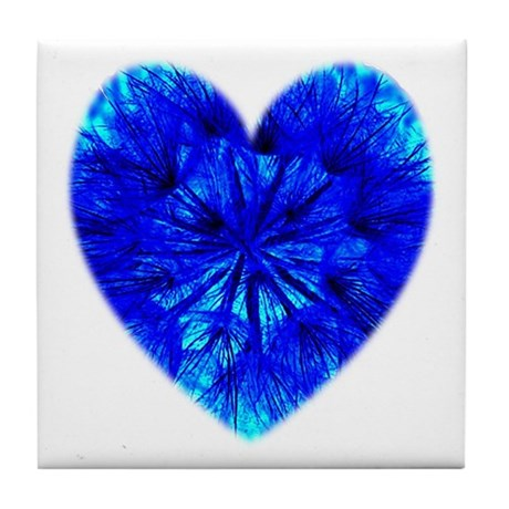 Heart of Seeds Tile Coaster