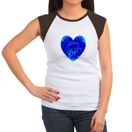 Heart of Seeds Women's Cap Sleeve T-Shirt