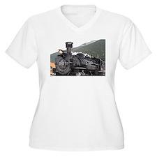 Steam train engine, Silverton, Colorado, USA 7 Plu