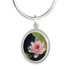 Pink Water Lily Necklaces