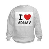 I love Arnav Sweatshirt
