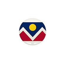 Denver Flag Mini Button