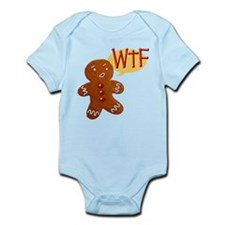 Gingerbread WTF Infant Bodysuit