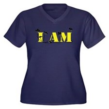 Lovely D-I am Kryptonite Collection Plus Size T-Sh
