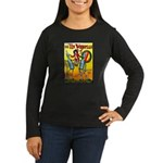 Tin Woodman of Oz Women's Long Sleeve Dark T-Shirt