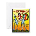 Tin Woodman of Oz Greeting Cards (Pk of 10)