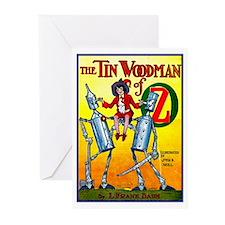 Tin Woodman of Oz Greeting Cards (Pk of 10)