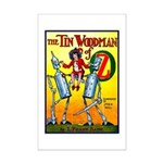 Tin Woodman of Oz Mini Poster Print