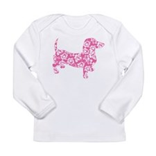 Aloha Pink Doxies Long Sleeve Infant T-Shirt