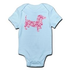 Aloha Pink Doxies Infant Bodysuit