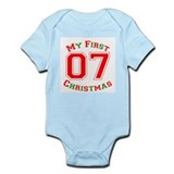 My First Christmas 07 Infant Bodysuit