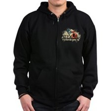 Don't mess with Texas Zip Hoodie