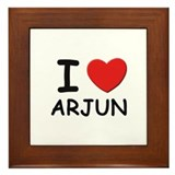 I love Arjun Framed Tile