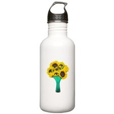 Vase Cat Flowers Water Bottle