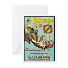 Kabumbo in Oz Greeting Cards (Pk of 10)
