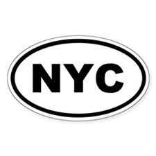 NYC New York City Decal