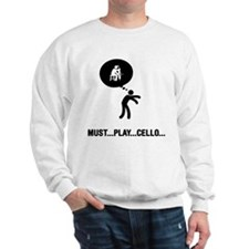 Cello Player Sweatshirt