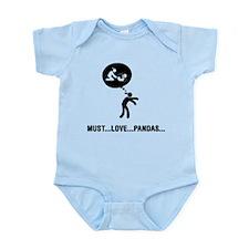 Panda Lover Infant Bodysuit