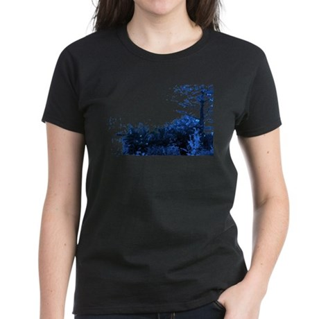 Blue Garden Women's Dark T-Shirt