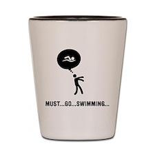 Swimming Shot Glass