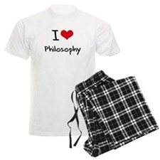 I Love PHILOSOPHY Pajamas