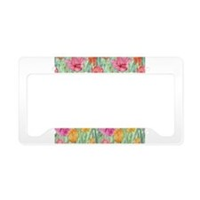 Tulip Meadow License Plate Holder