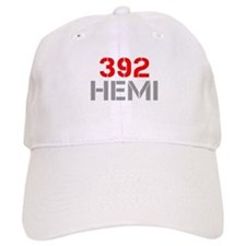 392-hemi-clean-red-gray Baseball Baseball Cap