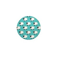 'Sheep' Mini Button (100 pack)