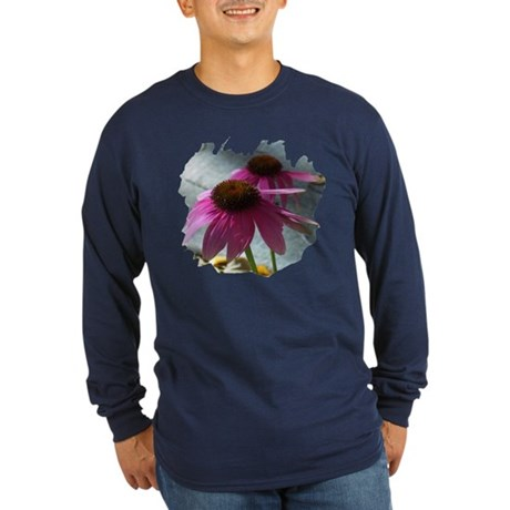 Windflower Long Sleeve Dark T-Shirt