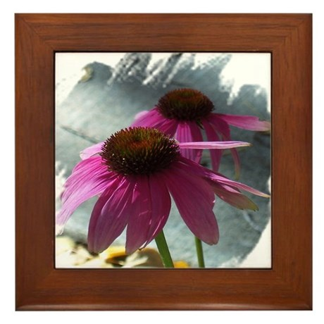 Windflower Framed Tile