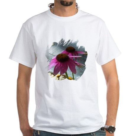 Windflower White T-Shirt